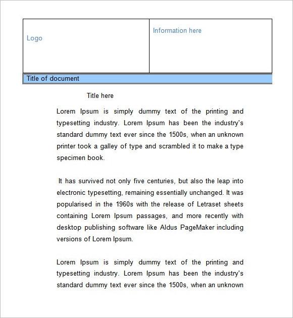 sample company fact sheet