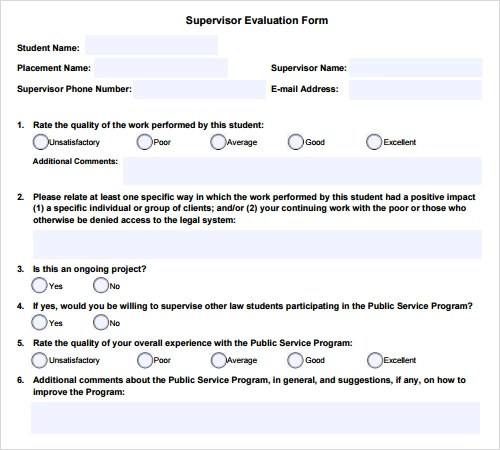 14+ Evaluation Samples Sample Templates - Sample General Evaluation Template