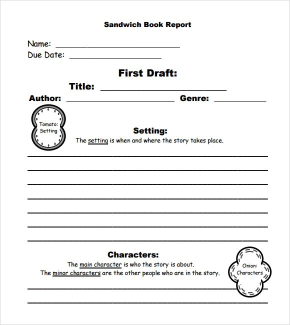 11+ Book Report Templates - Free Samples , Examples , Format