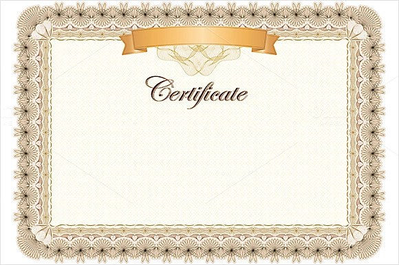 23+ Award Certificate Templates \u2013 Free Examples, Samples  Format - blank certificate of recognition