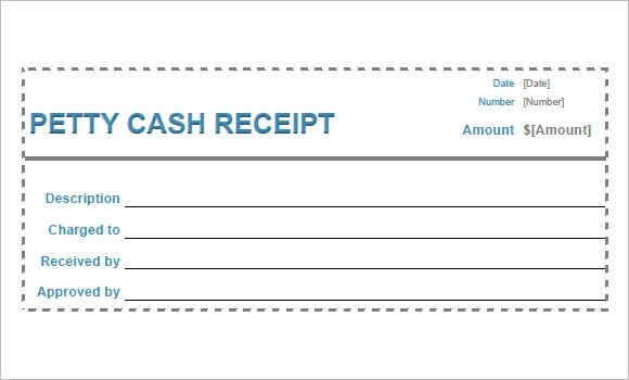21+ Blank Receipt Template u2013 Free Samples, Examples, Format - petty cash receipt template free
