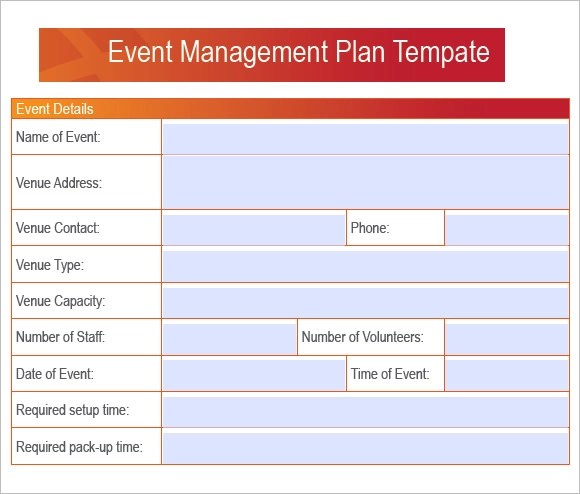 7+ Event Planning Samples Sample Templates - Event Plan Template