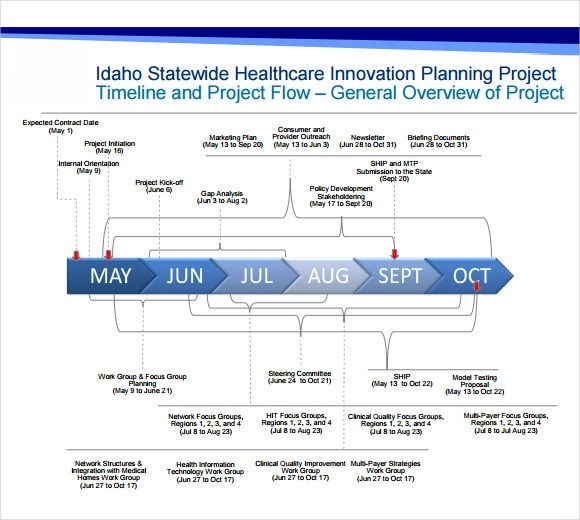 6+ Project Timeline Templates Sample Templates