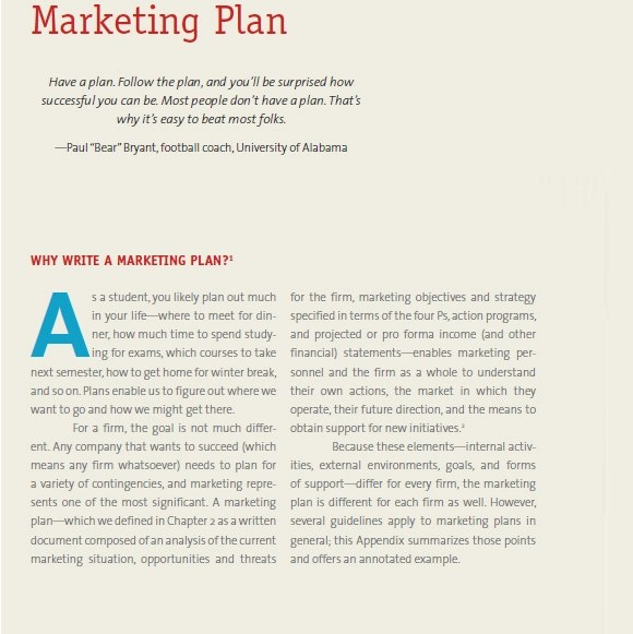 Sample Marketing Plan - 7+ Examples, Format