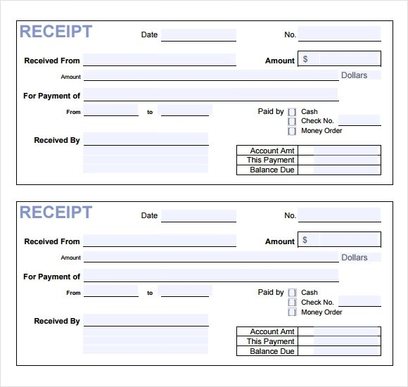 sample payment receipt - Ozilalmanoof