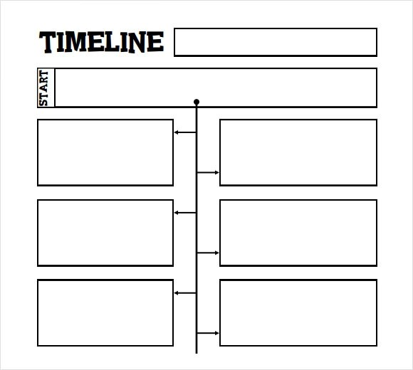 6+ Sample Timelines for Kids \u2013 PDF, Word Sample Templates