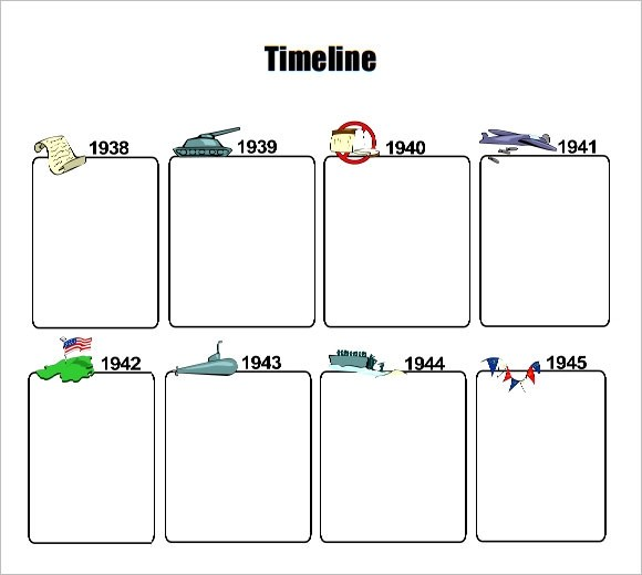 timeline examples for kids - Selol-ink