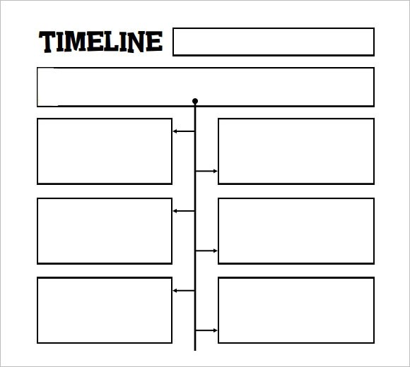 10 Timeline Templates for Kids \u2013 Samples , Examples  Format - timeline template