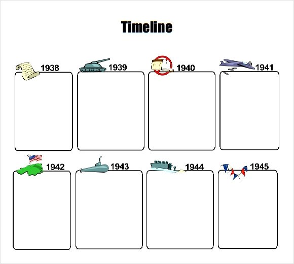 6+ Sample Timelines for Kids Sample Templates
