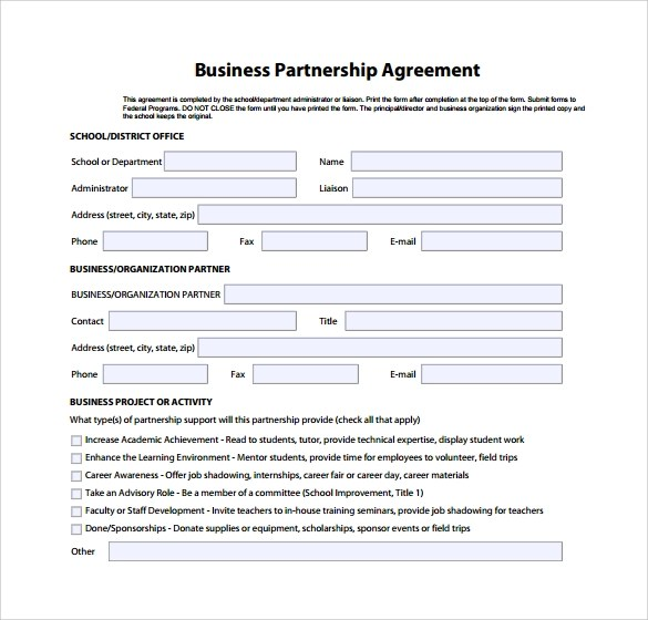 business partnership agreement in pdf - 28 images - 11 sle business - business investment agreements