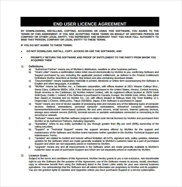 End User License Agreement Template Winfuture Winxpsp Updatepack End - sample software license agreement