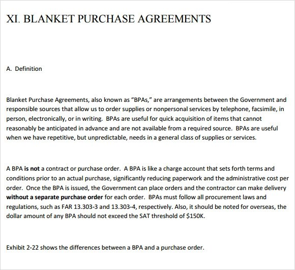 Blanket Purchase Agreements  NodeCvresumePaasproviderCom