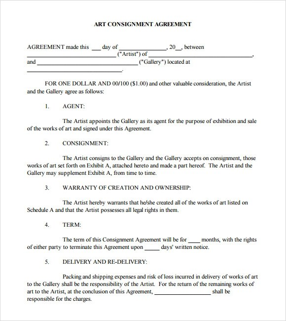 Simple Sample Agreement Form | Online Resume Builder For