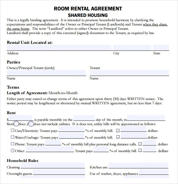 10+ Sample House Lease Agreements Sample Templates
