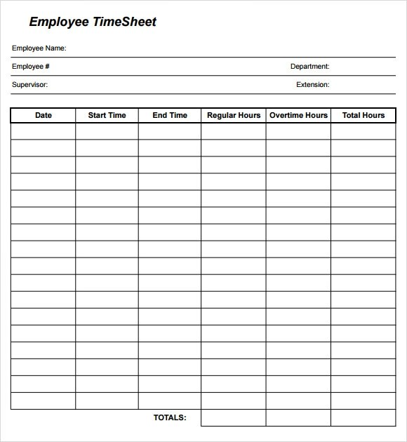 Hourly Timesheet Template Excel | Basic Invoice For Services