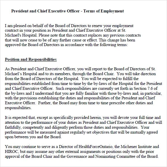 Executive Agreement Template Executive Producer Agreement Template - sample executive agreement