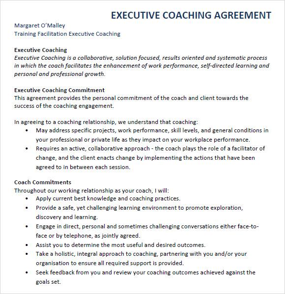Executive Employment Agreement Sample – Sample Executive Agreement