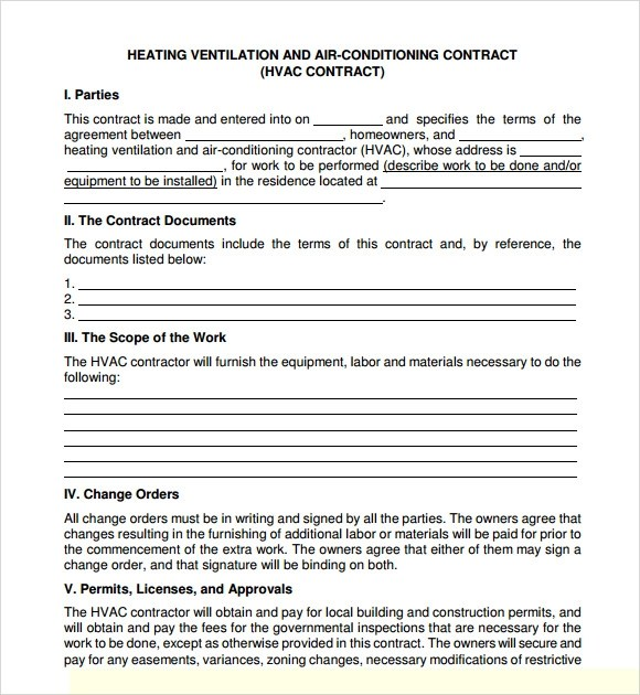 Format Of Service Agreement service contract in pdf master – Format of Service Agreement