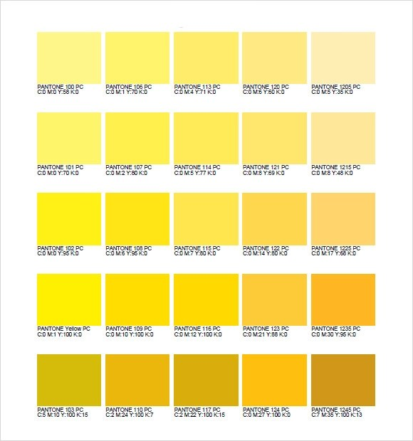 Sample Cmyk Color Chart periodic table with groups colored new cmyk - sample pms color chart