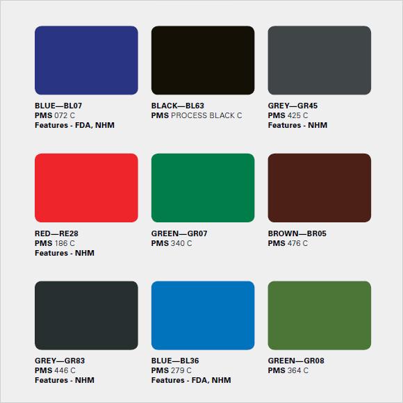 8+ Sample PMS Color Charts Sample Templates