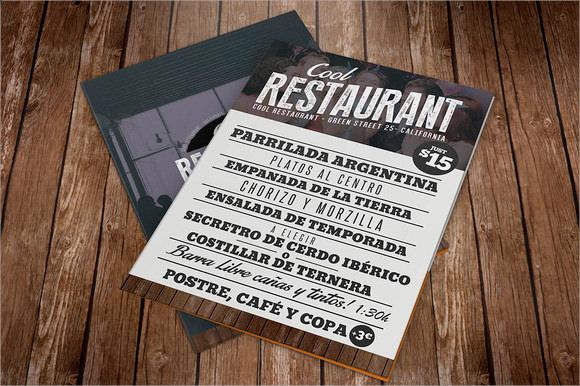 10+ Restaurant Brochures Sample Templates