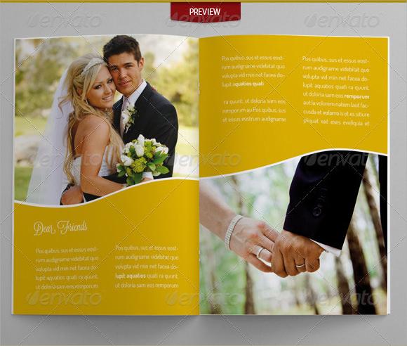 10+ Wedding Brochures Sample Templates
