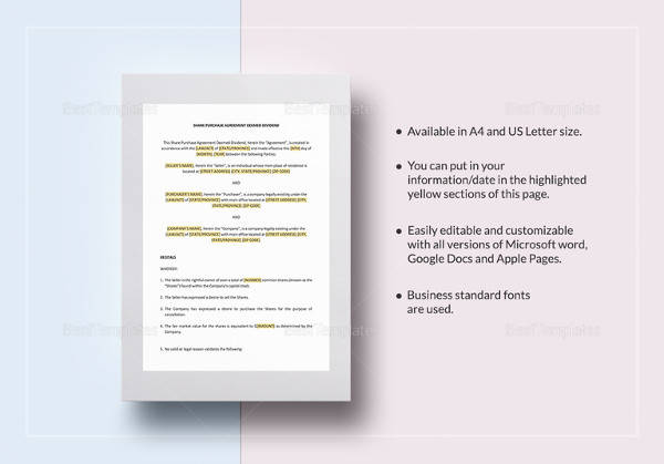 Sample Profit Sharing Agreement - 11+ Examples, Format