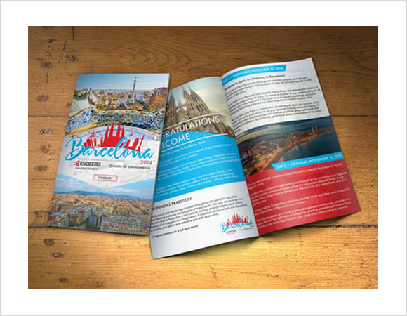 10+ Travel Brochures - Sample, Example, Format - travel brochure templates