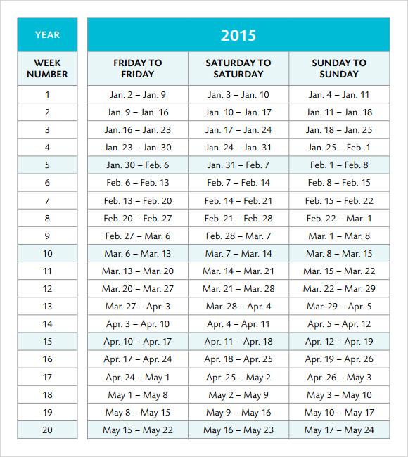 Sample Vacation Calendars - sample 2015 calendar