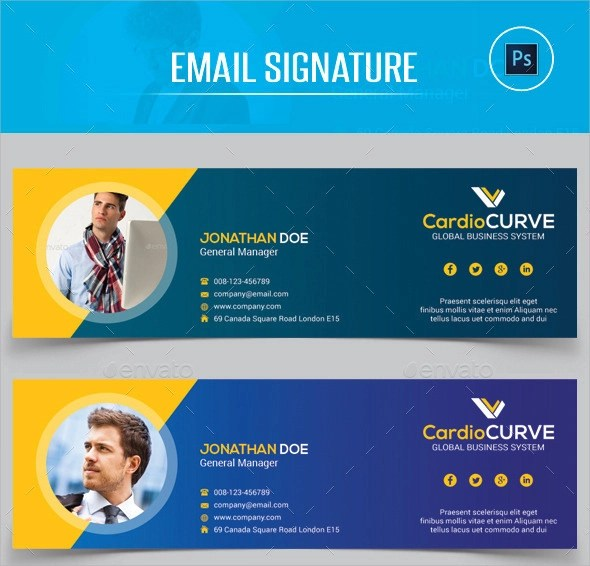 29+ Sample Email Signatures - PSD, Vector EPS