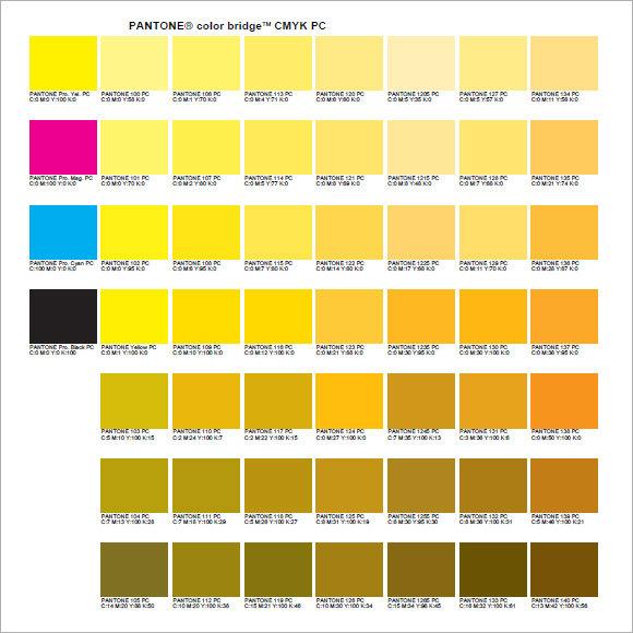 Pantone Solid Coated Color Chart Pdf - Rebellions