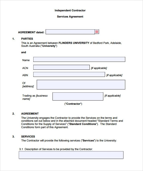 Contract Sample Marriage Contract Sample Sample Marriage Contract - independent contractor agreement form