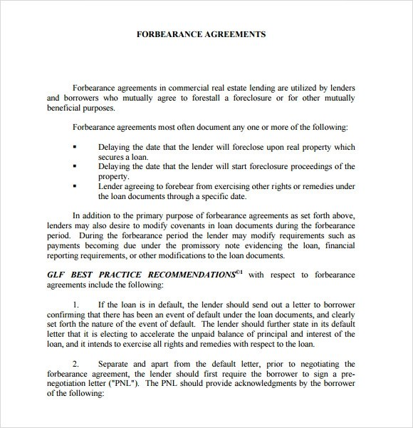 Sample Agreement With Recitals Sample Easement Agreement Recitals City Of  Boise Sample Forbearance Agreement 6 Documents