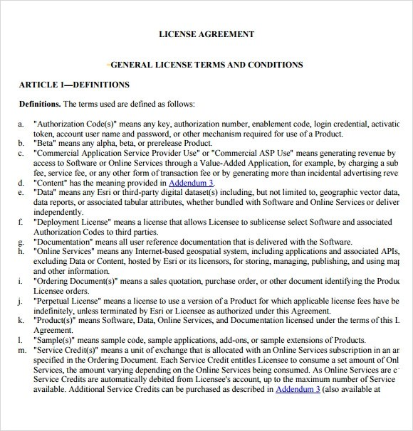Sample Leave And License Agreement Format | How To Make A Resume