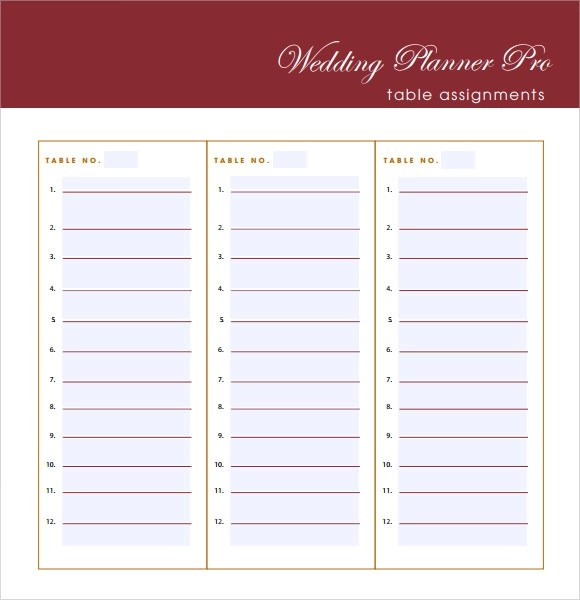 7+ Wedding Guest List Samples Sample Templates - product list samples