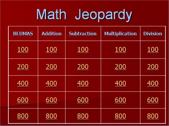 9 Jeopardy Powerpoint Templates \u2013 Free Samples , Examples  Format
