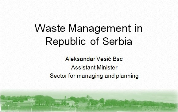 7 Waste Management PPT Templates Free Download Sample Templates - waste management ppt
