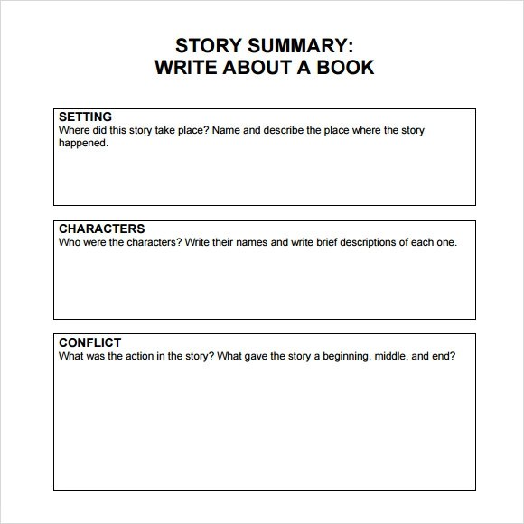 Sample Book Summary - 4+ Documents in PDF