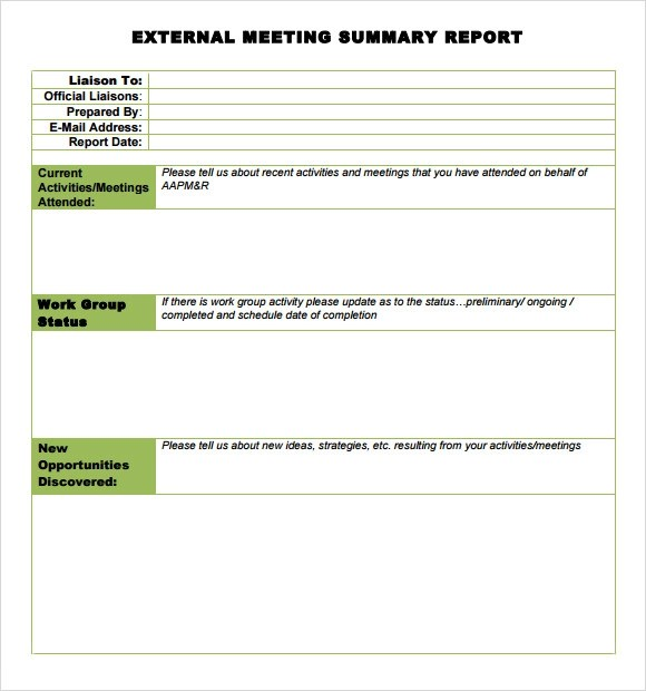 meeting-summary-report-templatejpg - business meeting minutes template word