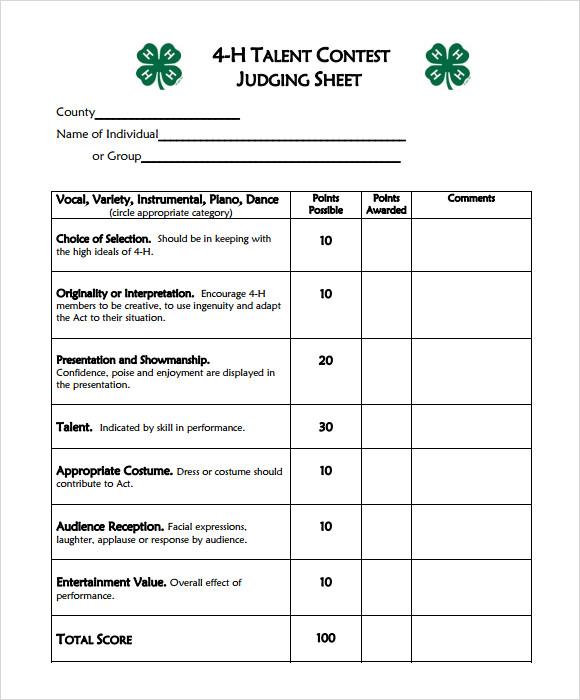 Interview Score Sheet Template | Env 1198748 Resume.cloud .