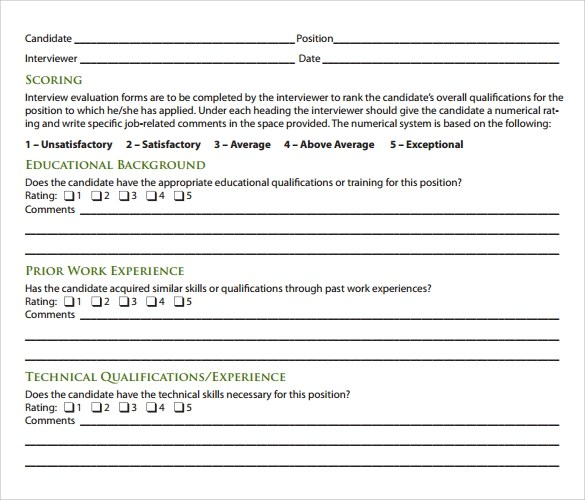 job interview form sample xv-gimnazija