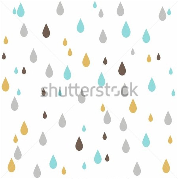 Raindrops Coloring Pages Raindrops Falling From The Sky Raindrop