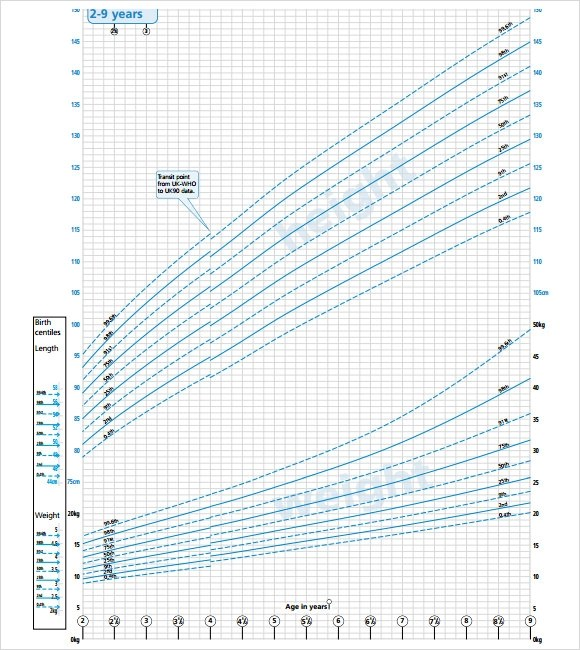 Cdc Growth Chart Template  NodeCvresumePaasproviderCom