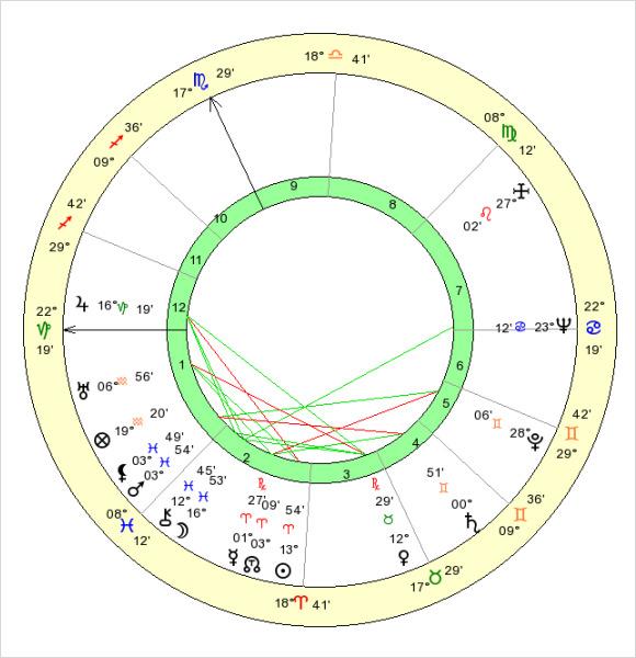 7+ Sample Birth Chart Templates Sample Templates