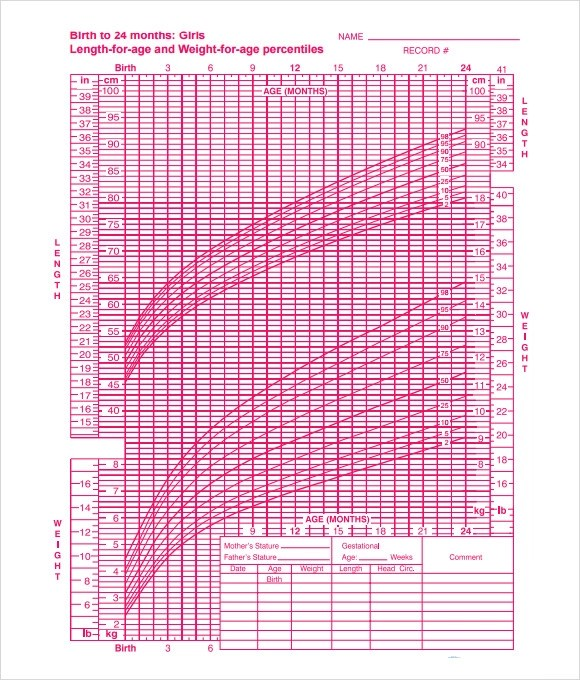 7+ Sample Girls Growth Chart Templates Sample Templates - cdc growth chart template
