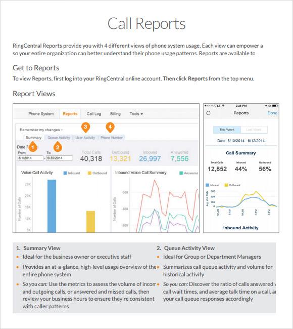 12+ Sample Sales Call Reports Sample Templates - sales call report sample