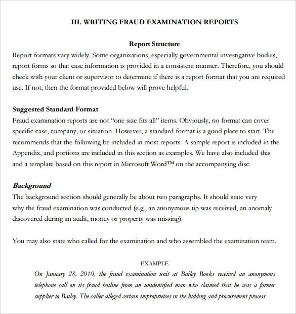 report writing format for students - Canasbergdorfbib