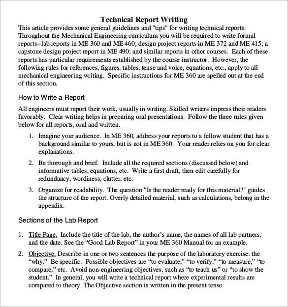 30+ Sample Report Writing Format Templates \u2013 PDF Sample Templates