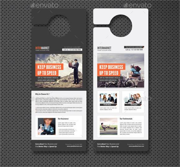 Banking And Financial Door Hanger Template Images – Banking and Financial Door Hanger Template