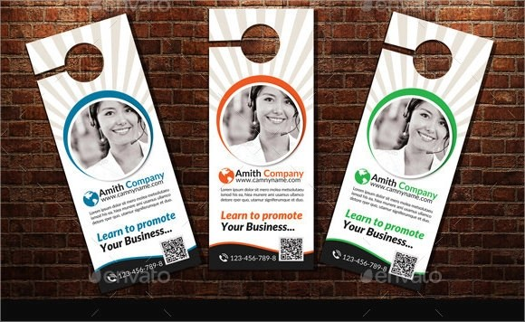 Consulting Services Door Hanger Template Psd | When To Break